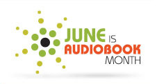Audiobook Month logo
